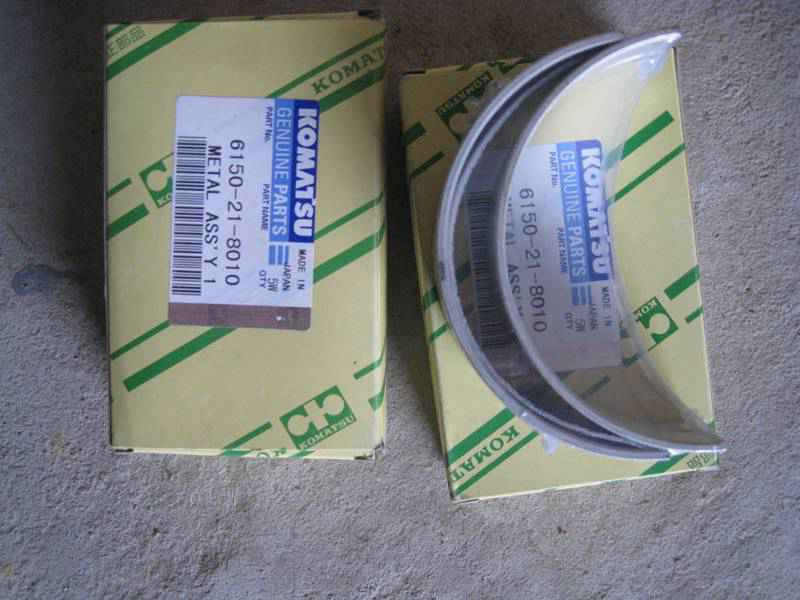 Вкладыши 6D125 crankshaft main bearing 6150-21-8010