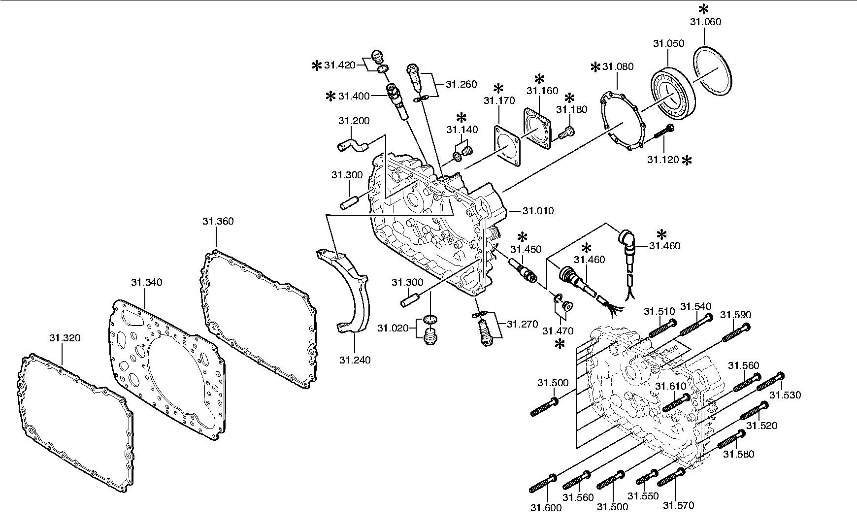 КПП ЯМЗ 238 с демультипликатором, схема, устройство ТД Спецмаш 38